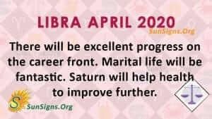 Libra April 2020 Horoscope