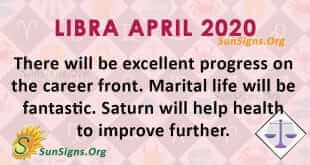 Libra April 2020 Horoscope