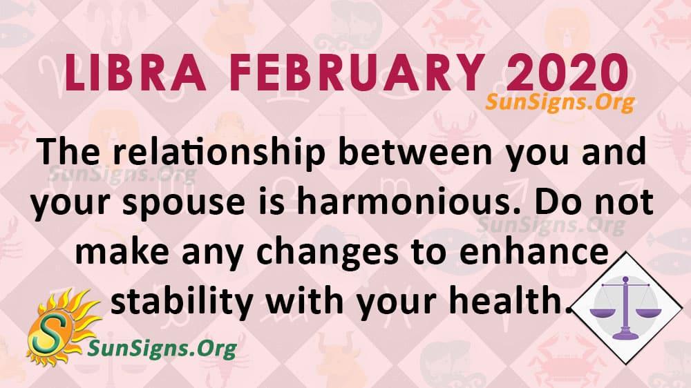 Libra February 2020 Horoscope