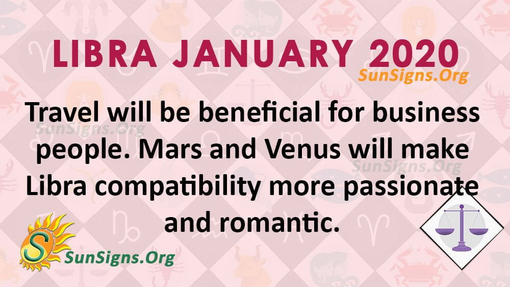 Libra January 2020 Horoscope