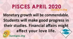 Pisces April 2020 Horoscope