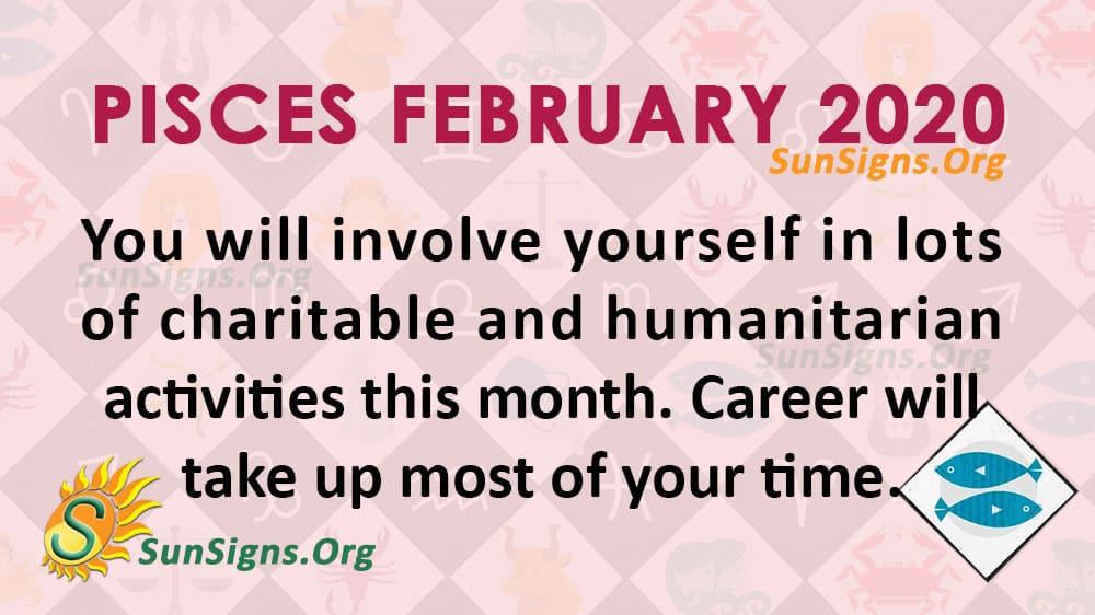 Pisces February 2020 Horoscope