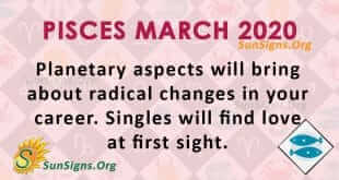 Pisces March 2020 Horoscope