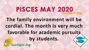 Pisces May 2020 Horoscope