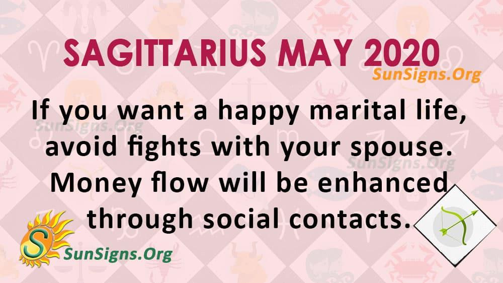 Sagittarius May 2020 Horoscope