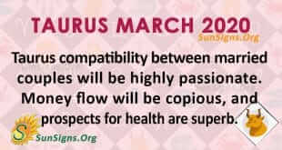 Taurus March 2020 Horoscope