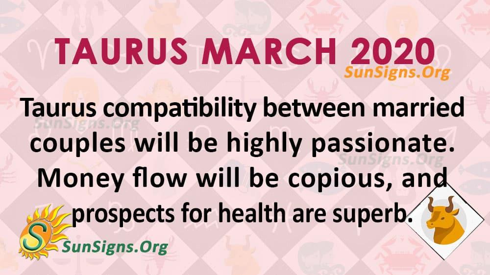 Taurus March 2020 Horoscope