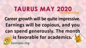 Taurus May 2020 Horoscope