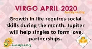 Virgo April 2020 Horoscope