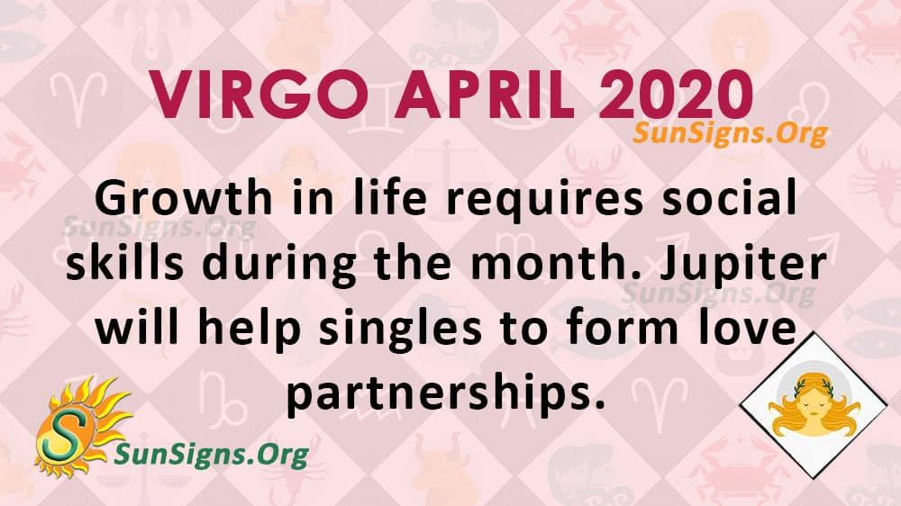 Virgo April 2020 Horoscope