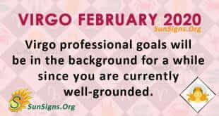 Virgo February 2020 Horoscope