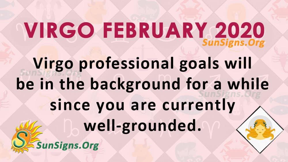 Virgo February 2020 Horoscope
