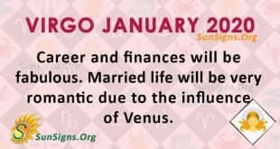 Virgo January 2020 Horoscope