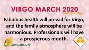 Virgo March 2020 Horoscope