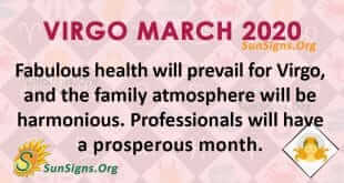 Virgo March 2020 Horoscope