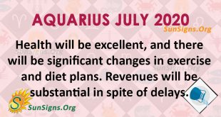 Aquarius July 2020 Horoscope