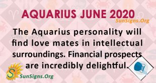 Aquarius June 2020 Horoscope