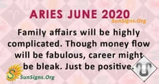 Aries June 2020 Horoscope