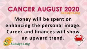 Cancer August 2020 Horoscope