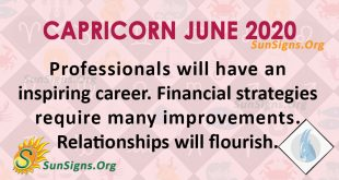 Capricorn June 2020 Horoscope