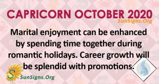 Capricorn October 2020 Horoscope