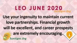 Leo June 2020 Horoscope
