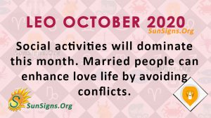 Leo October 2020 Horoscope