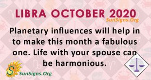 Libra October 2020 Horoscope