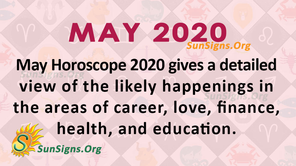 May 2020 Horoscope