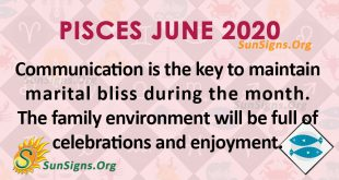 Pisces June 2020 Horoscope