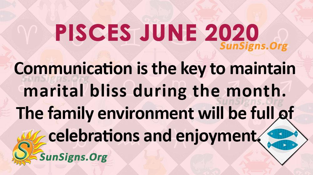 Pisces June 2020 Horoscope