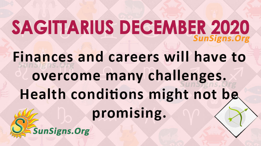 Sagittarius December 2020 Horoscope