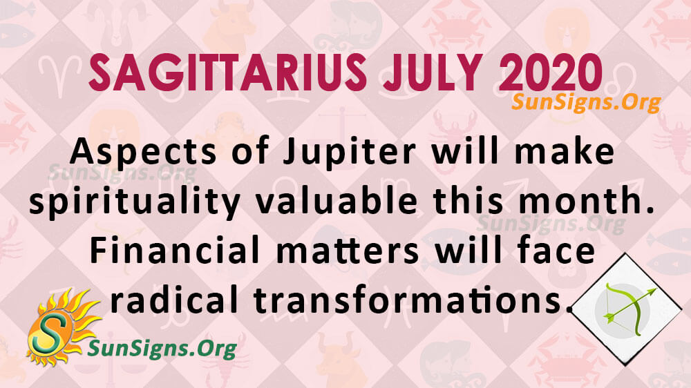 Sagittarius July 2020 Horoscope