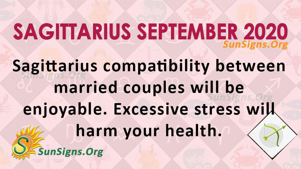 Sagittarius September 2020 Horoscope