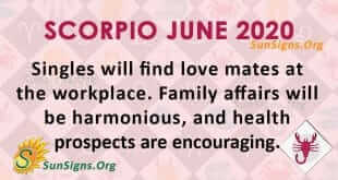 Scorpio June 2020 Horoscope