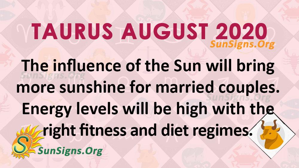 Taurus August 2020 Horoscope