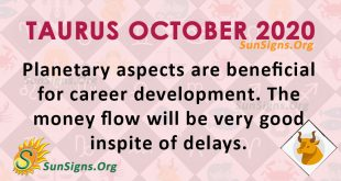 Taurus October 2020 Horoscope