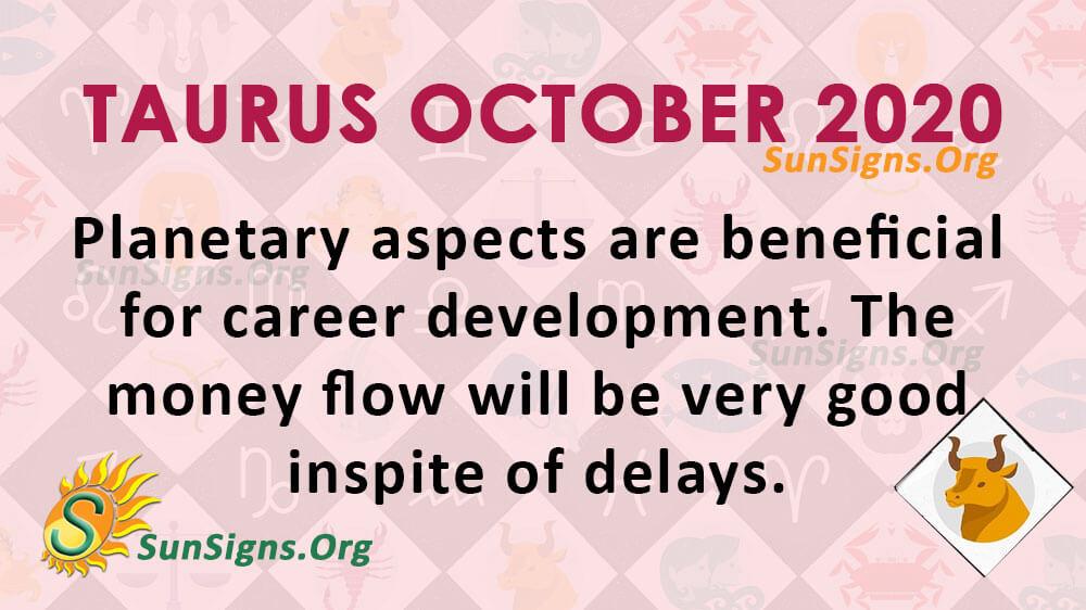 Taurus October 2020 Horoscope