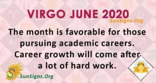 Virgo June 2020 Horoscope