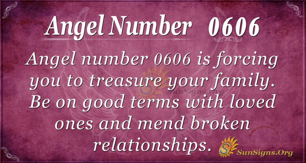 Angel Number 0606