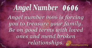 Angel Number 0606