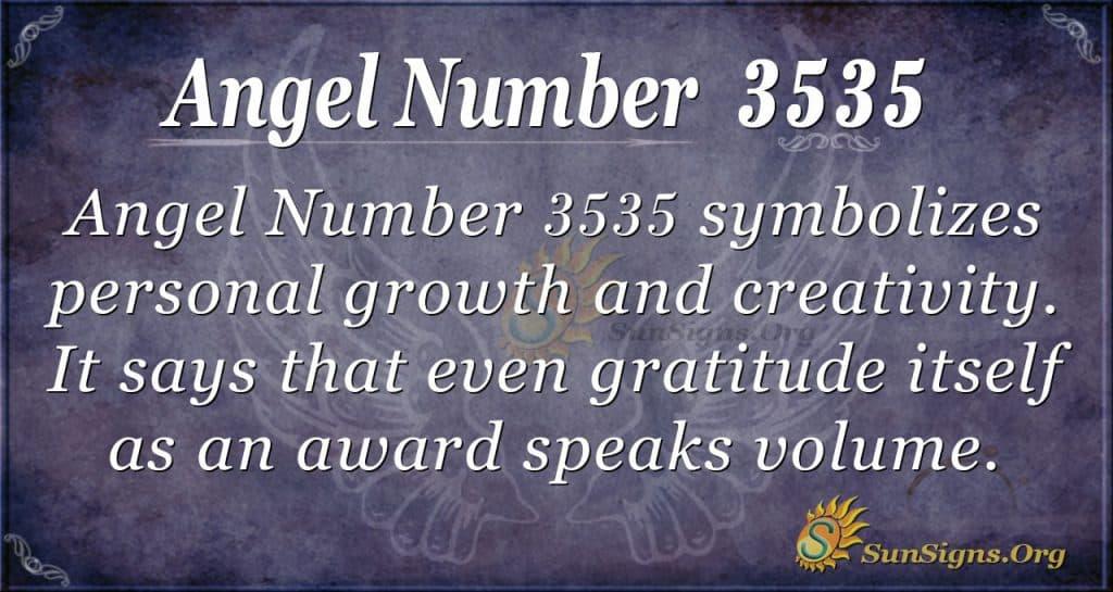 angel number 3535