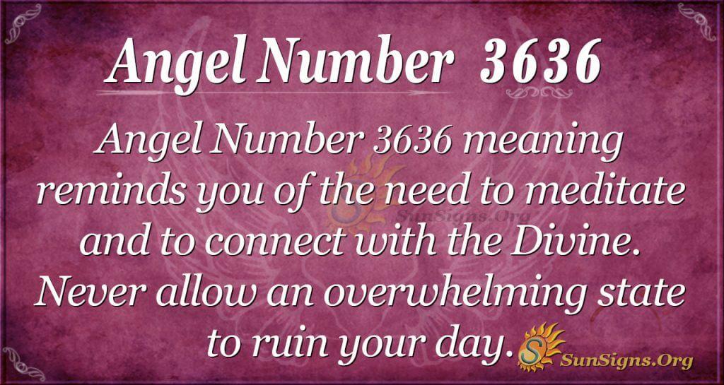angel number 3636