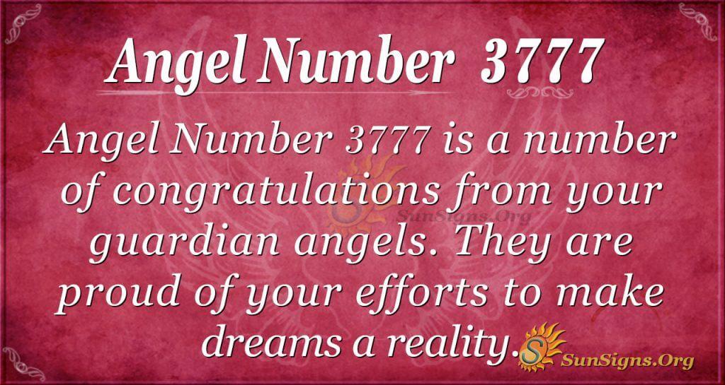 angel number 3777