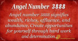 angel number 3888