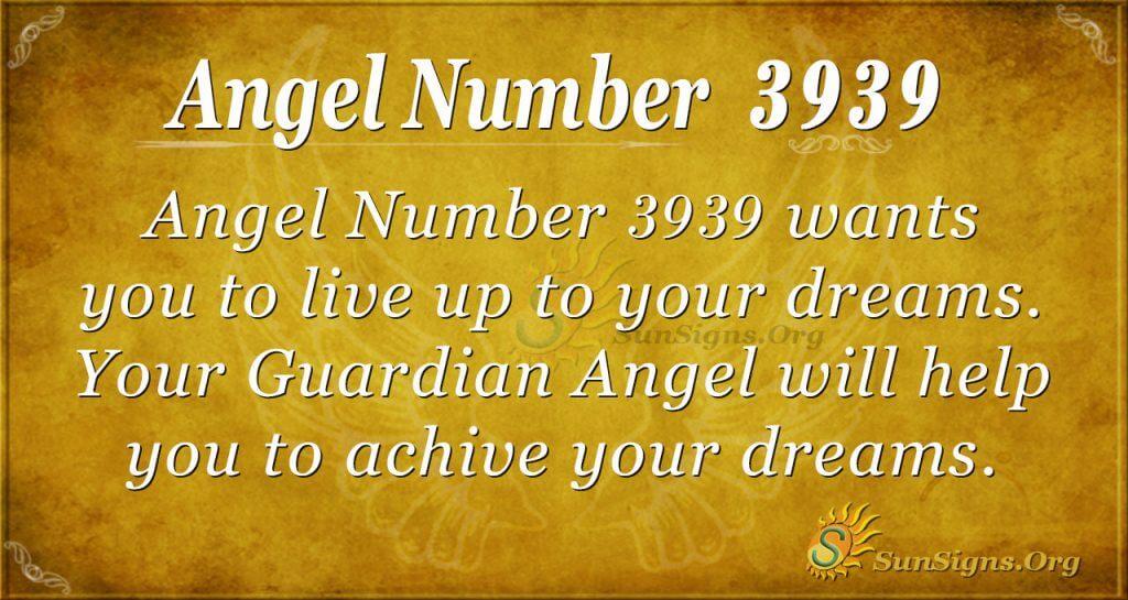 angel number 3939