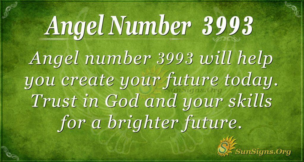 angel number 3993