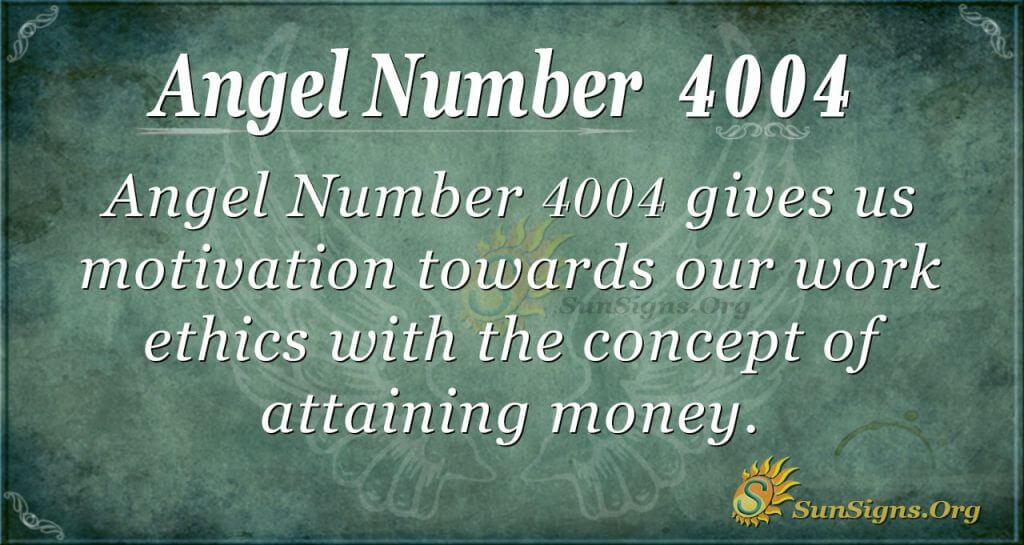 angel number 4004