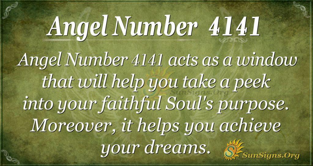 angel number 4141