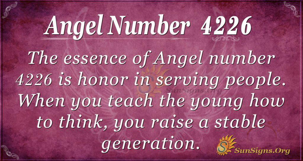 angel number 4226